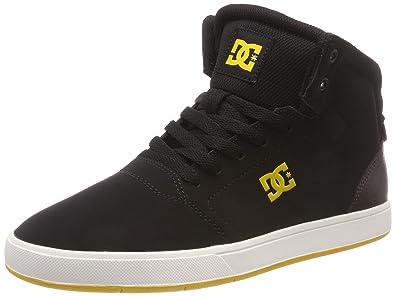 1caf0fe480087 DC Shoes Crisis High, Chaussures de Skateboard Homme, Noir Brown Black-Combo