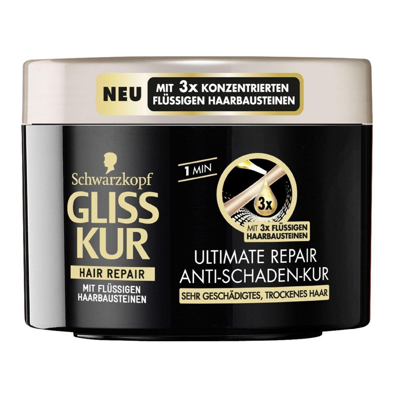 gliss kur ultimate repair anti damage hair mask
