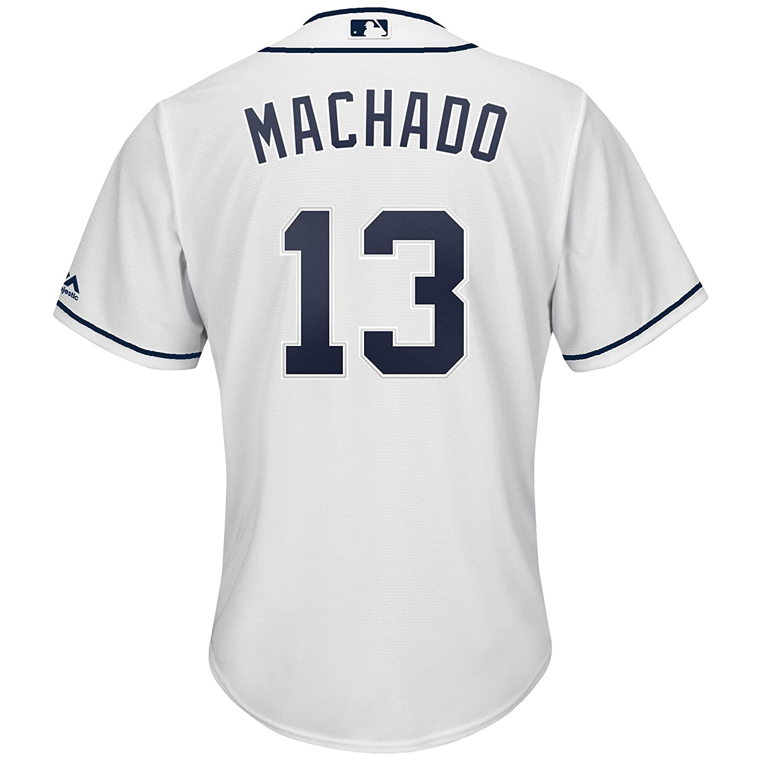 OuterStuff Manny Machado San Diego Padres MLB Majestic Toddler 2-4 White Home Cool Base Replica Jersey