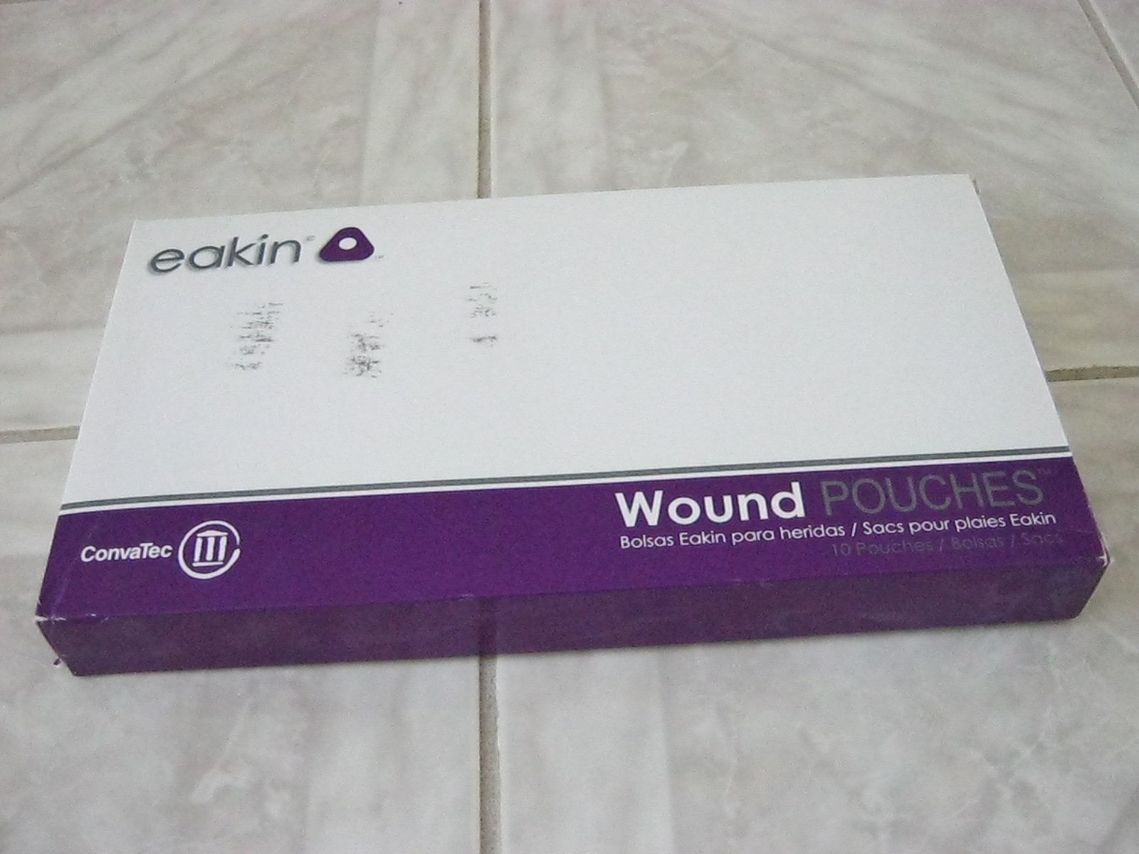 Eakin Fistula Wound Pouch with New Tap Closure 6.9'' x 4.3'' by ConvaTec