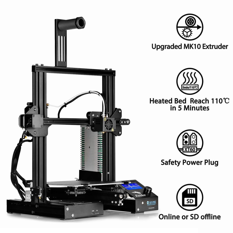 Impresora 3D SainSmart x Creality Ender-3, impresora V-Slot Prusa ...