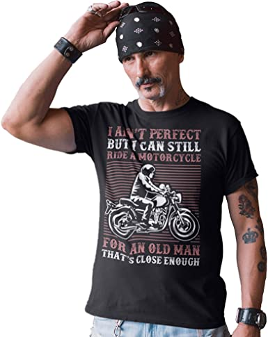 Old Boy 13 Mens Motorbike Motorcycle T-Shirt Bike Biker Birthday Fathers Day