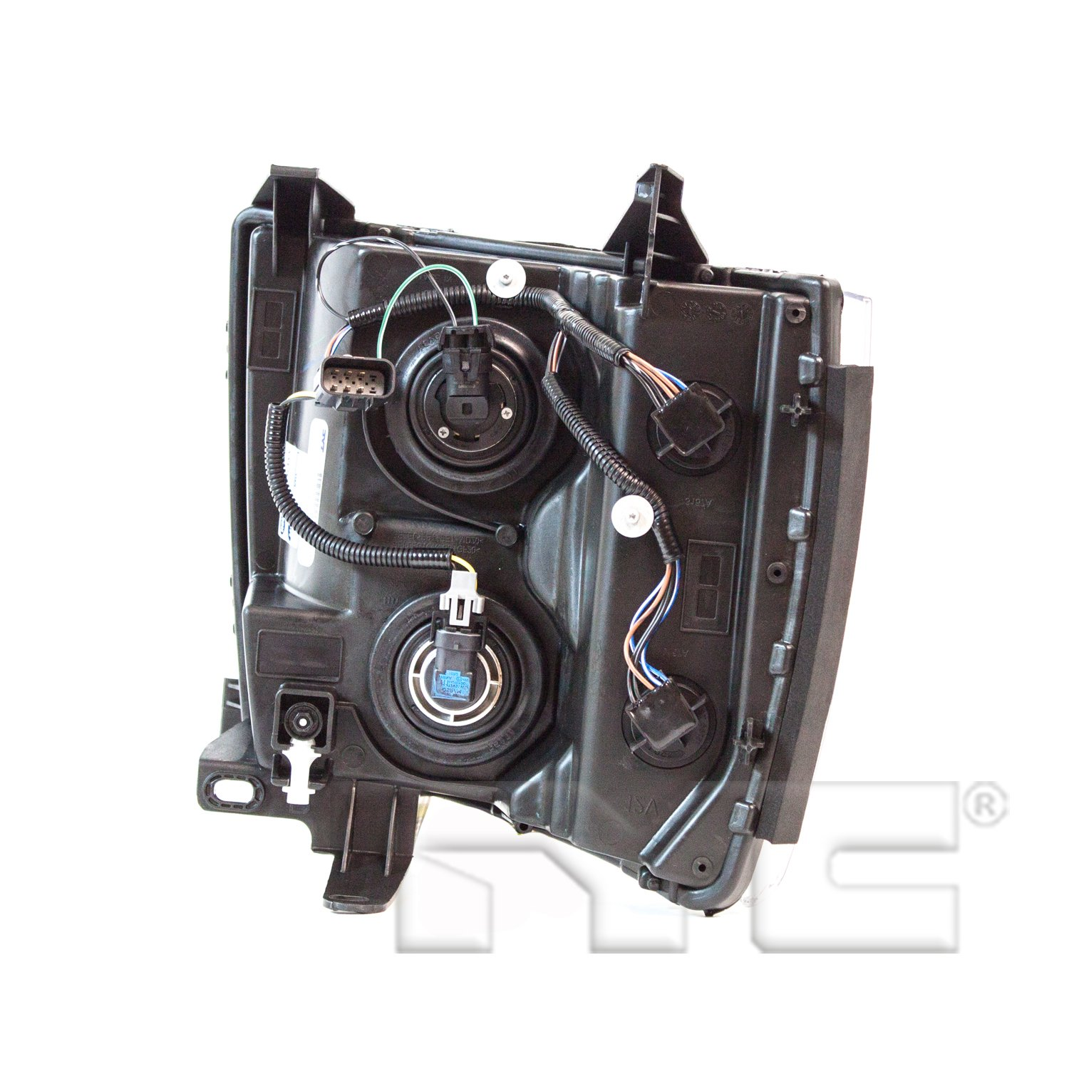TYC 20-6817-00-1 Chevrolet Right Replacement Head Lamp