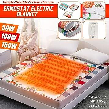 Amazon Com Bob 101 150w King Size Electric Heated Blanket Soft