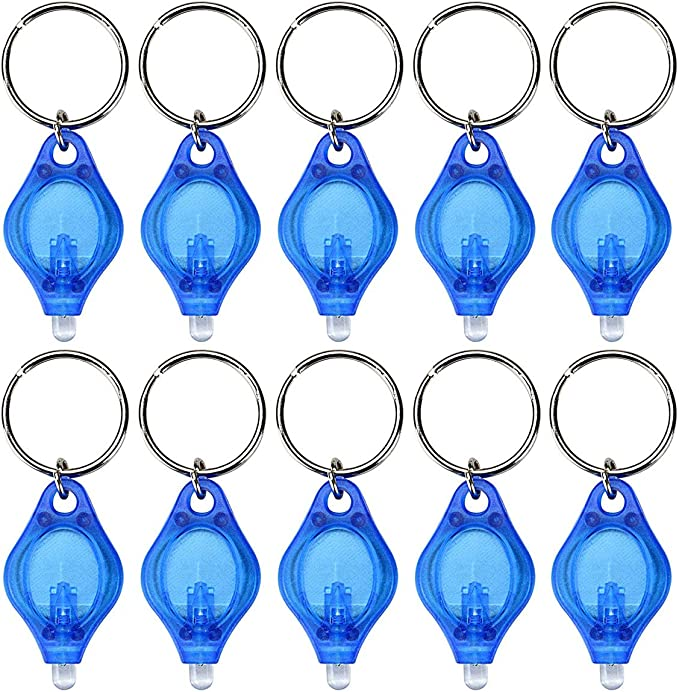 Details about  /Mini LED Pocket Keyring Light Portable Flashlight Keychain Camping Torch Outdoor