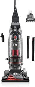 Hoover Windtunnel 3 Pro Bagless Corded Upright Vacuum Cleaner, UH70901PC, Black