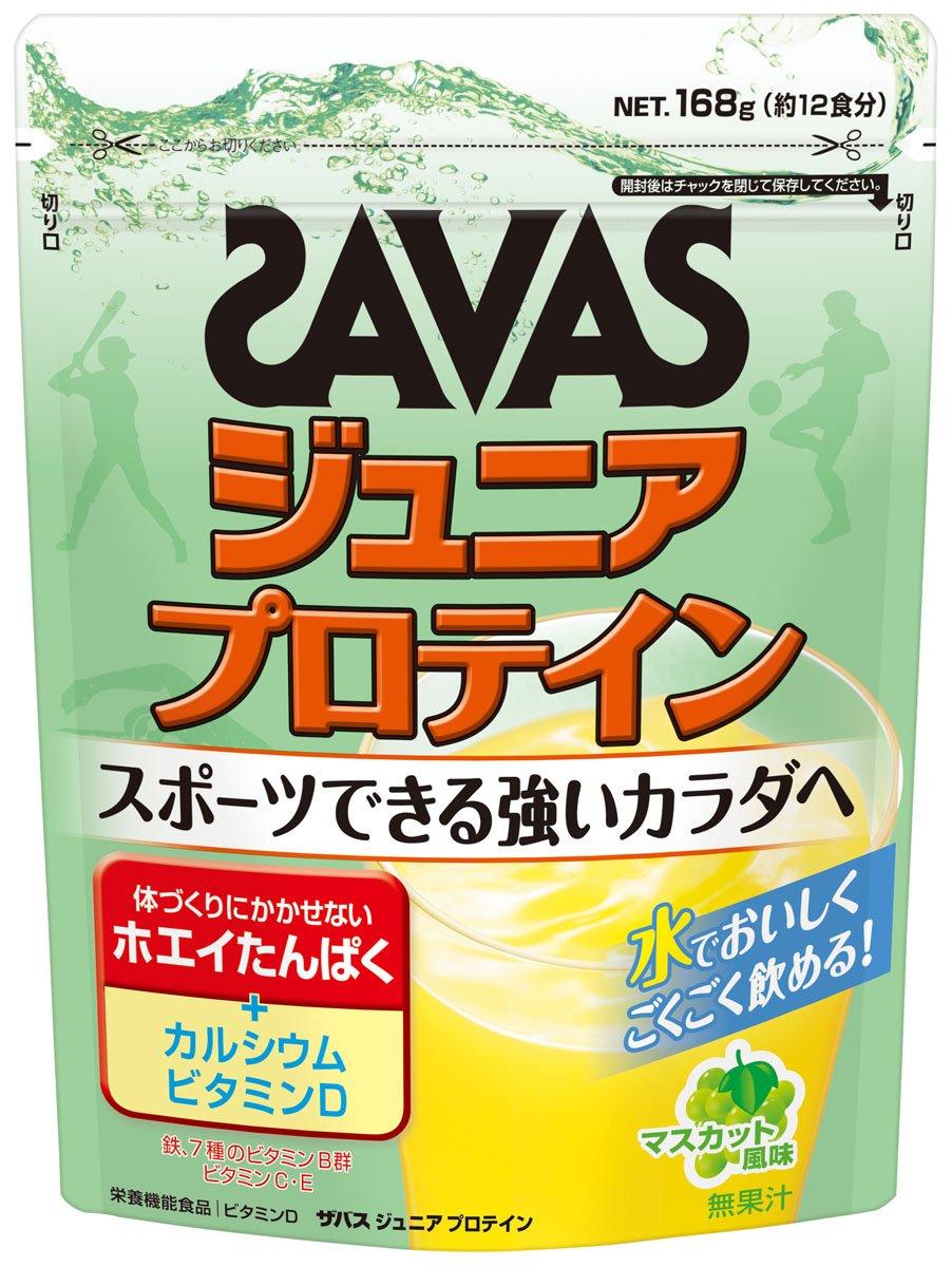 【明治】ザバス ジュニアプロテイン マスカット風味のサムネイル