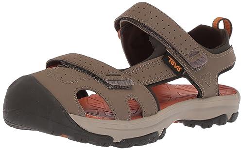 1dbe674238a8 Teva Hurricane Toe Pro Kids Sandals. Walnut  Amazon.co.uk  Shoes   Bags
