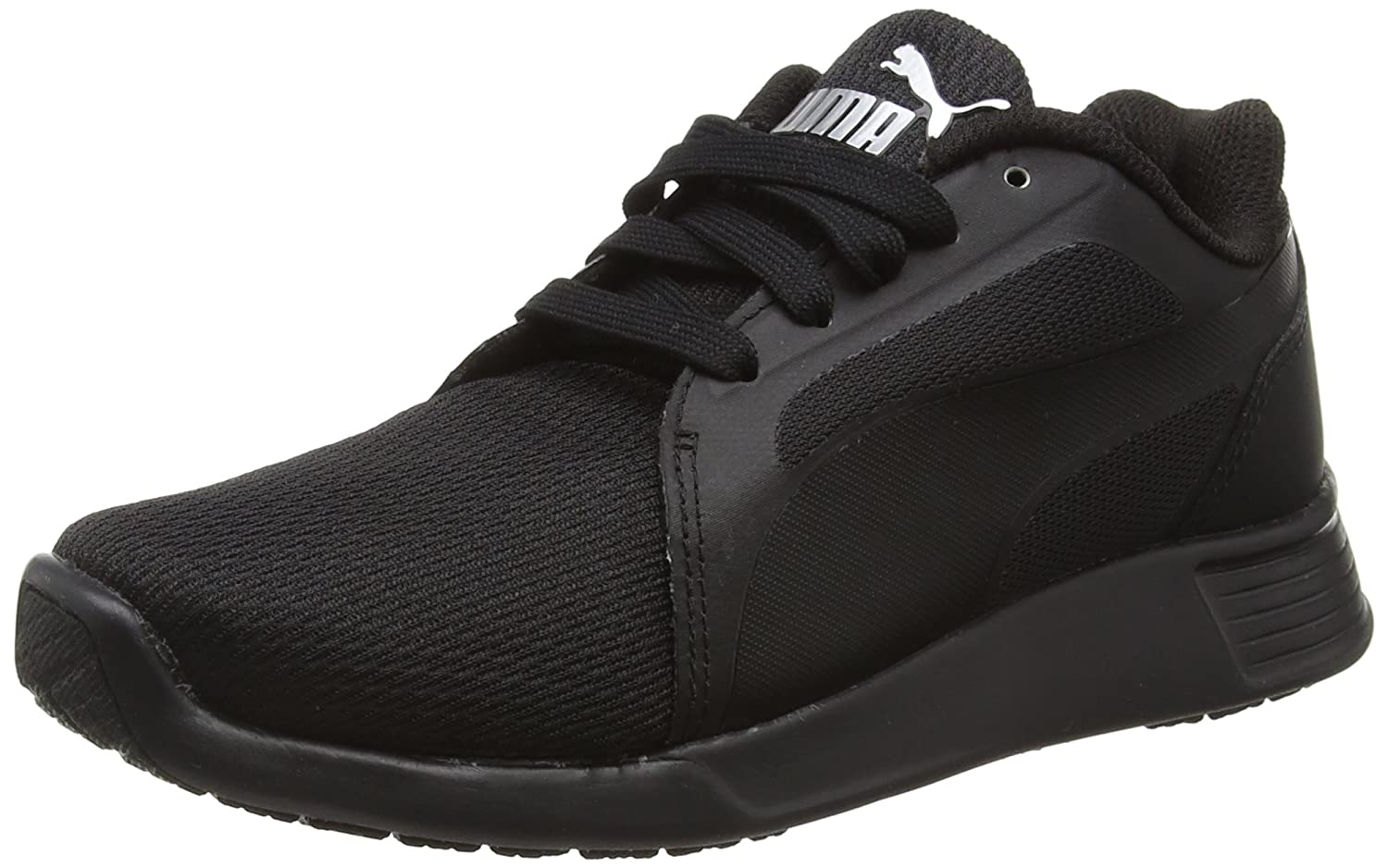 Puma St Trainer Evo Tech Unisex-Erwachsene Low-Top  37 EU|Schwarz (Black-black 03)