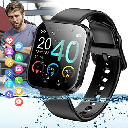 side facing peakfun smart fitness & activity tracker