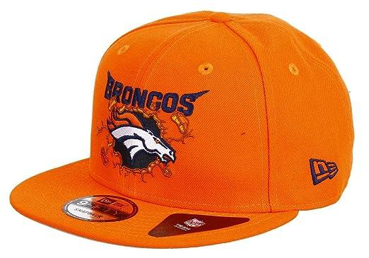 New Era - Gorra de béisbol - para Hombre Broncos-Orange Una Talla ...