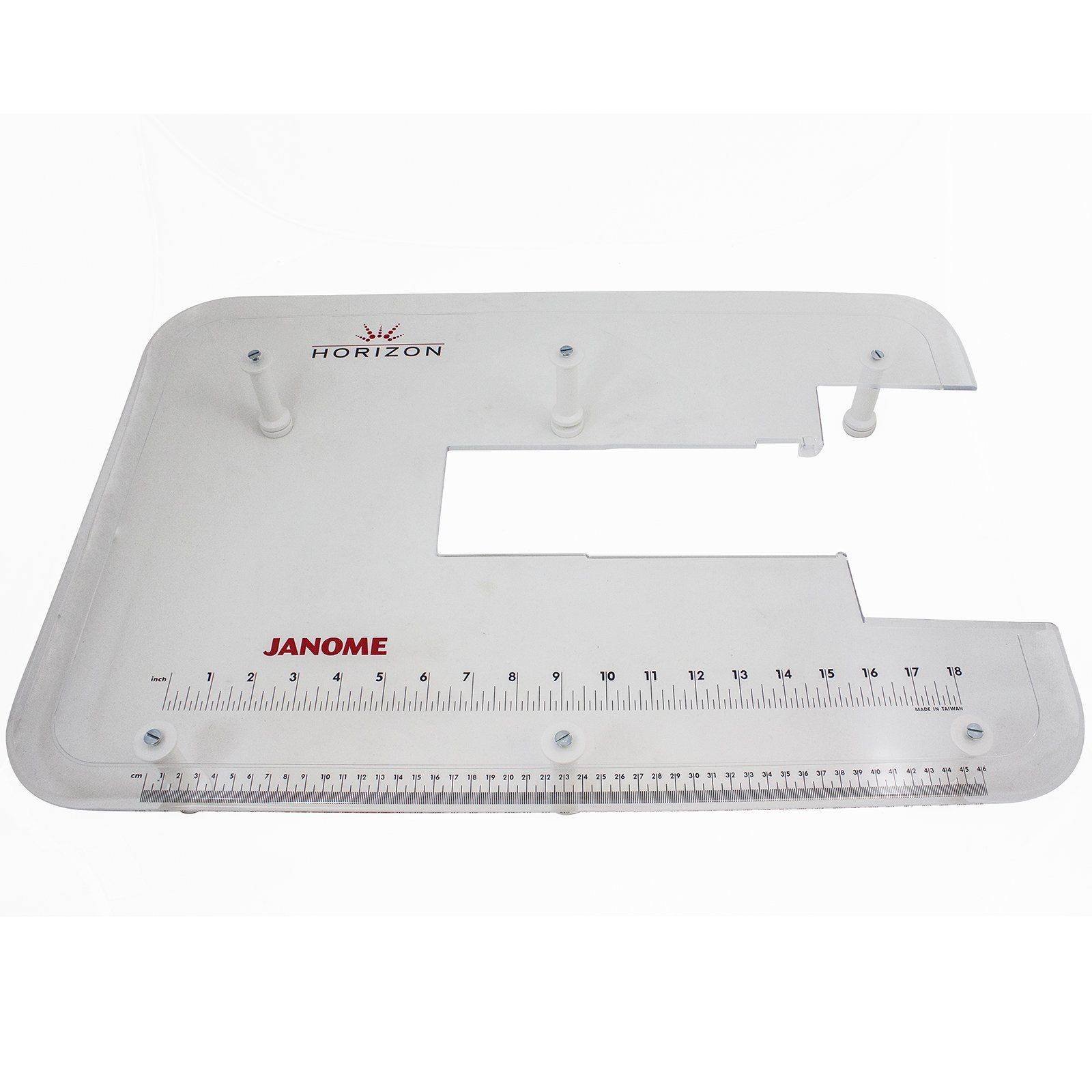 Janome Acrylic Extension Table for MC7700, MC8200, MC8900 by Janome