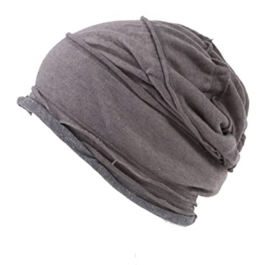 Casualbox Men Slouch Large Big Beanie Baggy Hat Knit Japanese Fashion Beige 820a404e2c8
