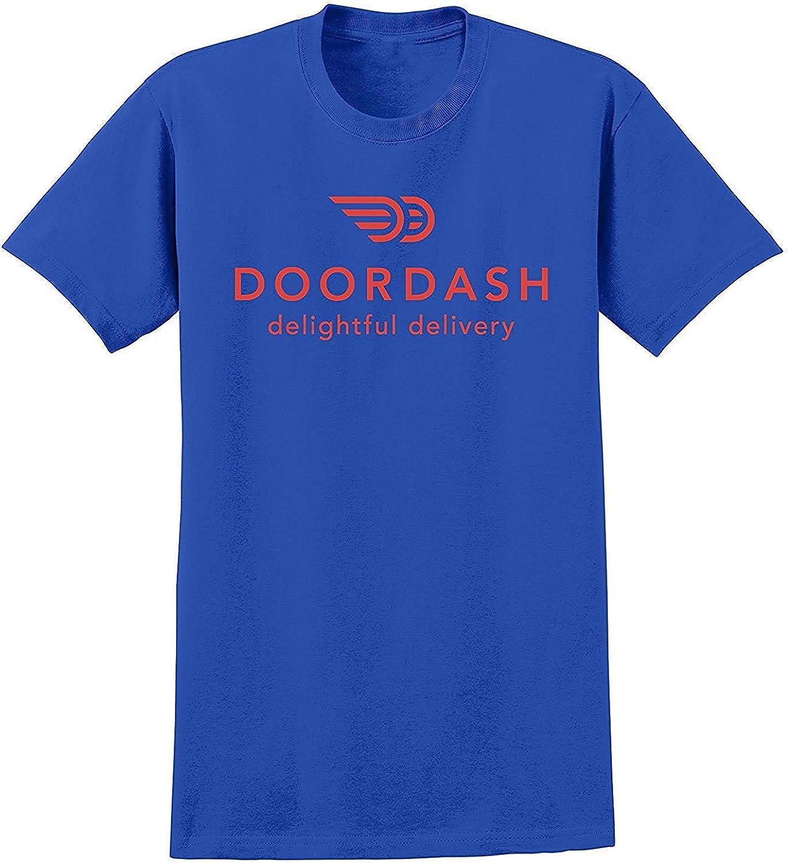 TREEGREEN Inspired Gifts Door Dash T Shirt DoorDash Delightful Delivery Unisex Tee Shirts