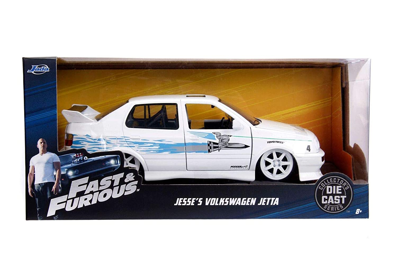 Blanco//Azul Jada Toys Coche de ferrocarril de Collection 99591/W