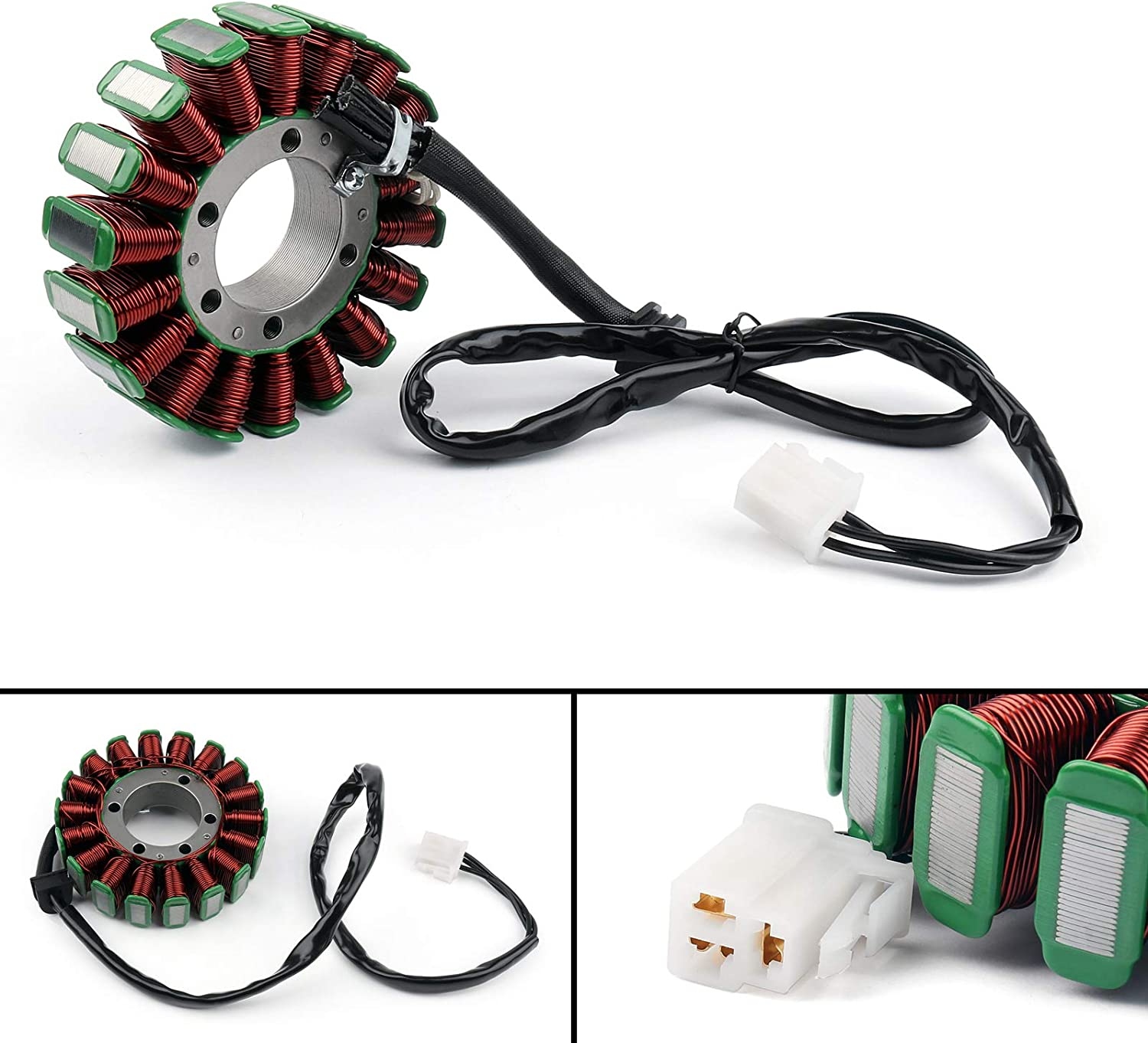 Artudatech Motorcycle Magneto Stator Coil Moto Magneto Generator Engine Stator Coil Ignition Generator for Trium-ph Day-tona 955i 2002-2006