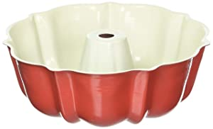 Nordic Ware 6-Cup Bundt Pan, Red