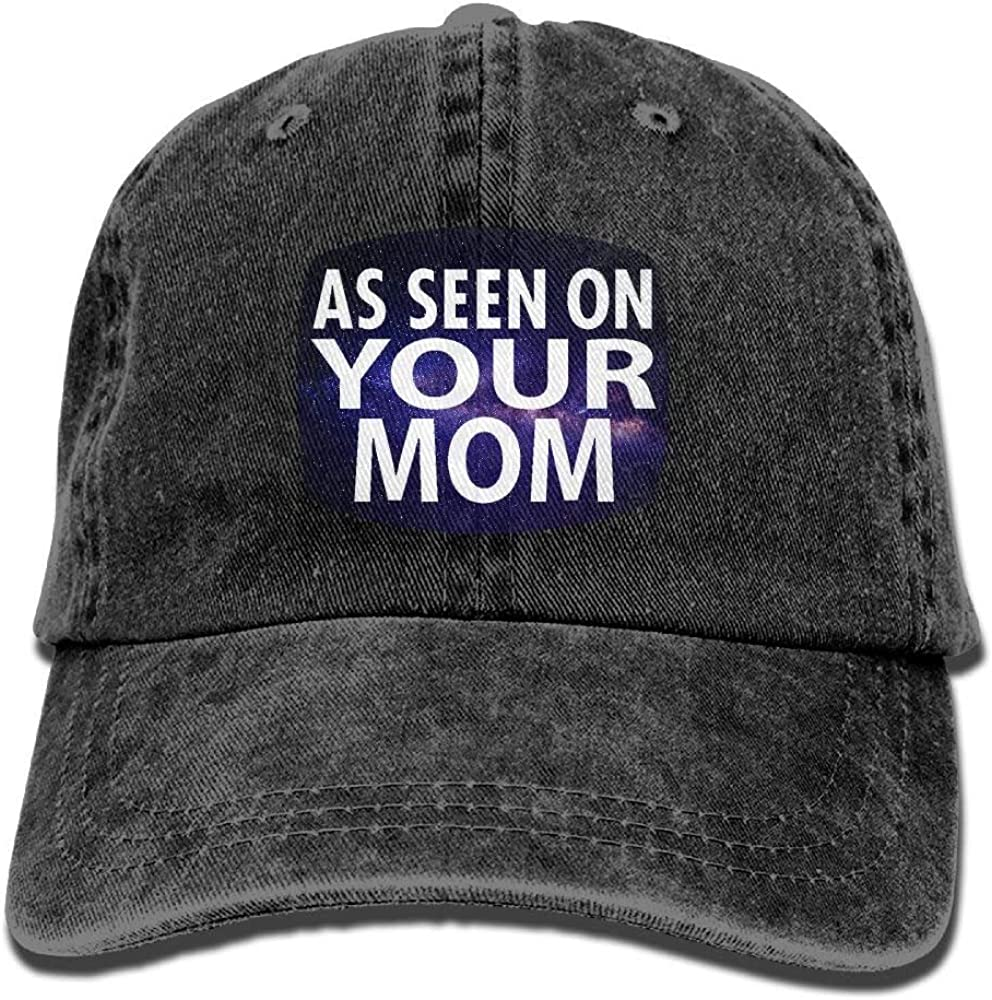 As Seen On Your Mom Denim Hat Dad Cap