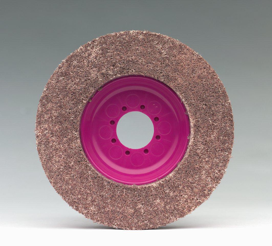 CS Unitec 96714 Magnum Fleece Top Finishing and Polishing Disc, 4-1/2'' Diameter, 7/8'' Arbor, 600 Grit (Pack of 5)