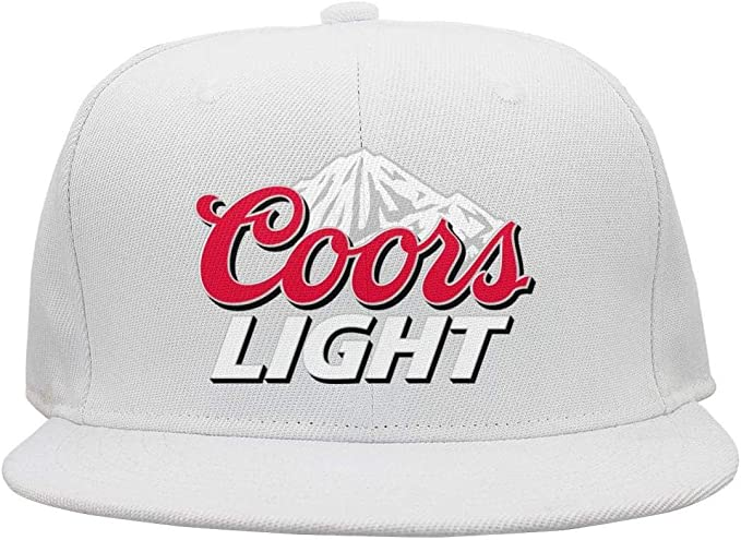 iorty rtty Cap Adjustable Unisex coors-Light-Logo Street Dancing Sun Hats