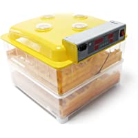 WilTec Incubadora 112 Huevos automática Incubación Criadero Control