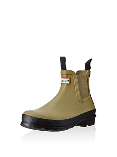 new concept 326d1 1b5c1 Hunter Gummistiefel Wmn Org Chelsea Two Tone Oliv EU 37 (UK ...