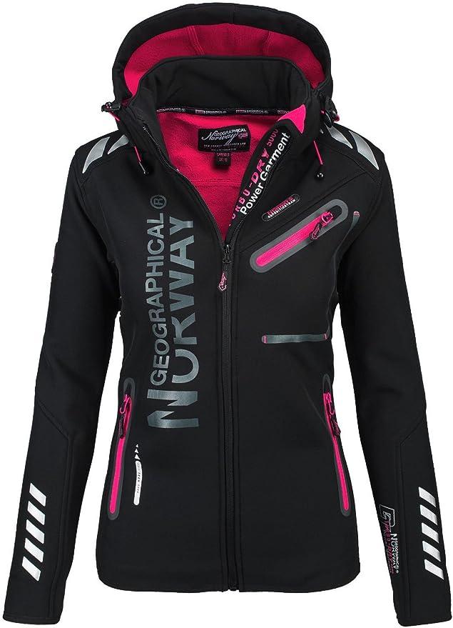 Regen Funktions Geographical Softshell Outdoor Damen Norway Jacke Sport Fcl1JKuT35