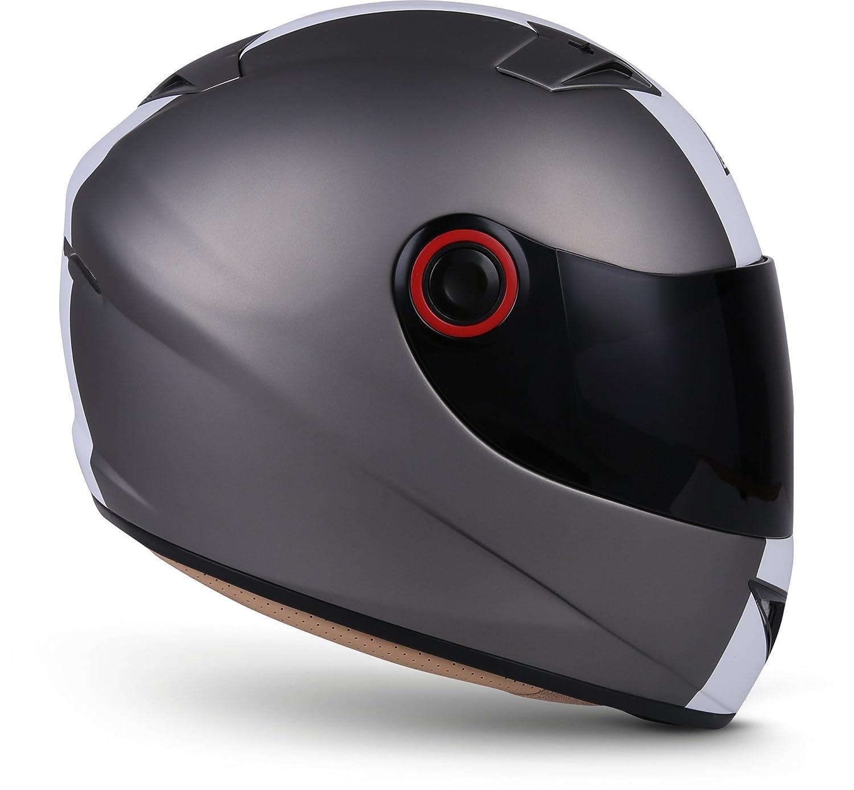 MOTO X86 Gloss Black · Cruiser Casco Integrale Urban