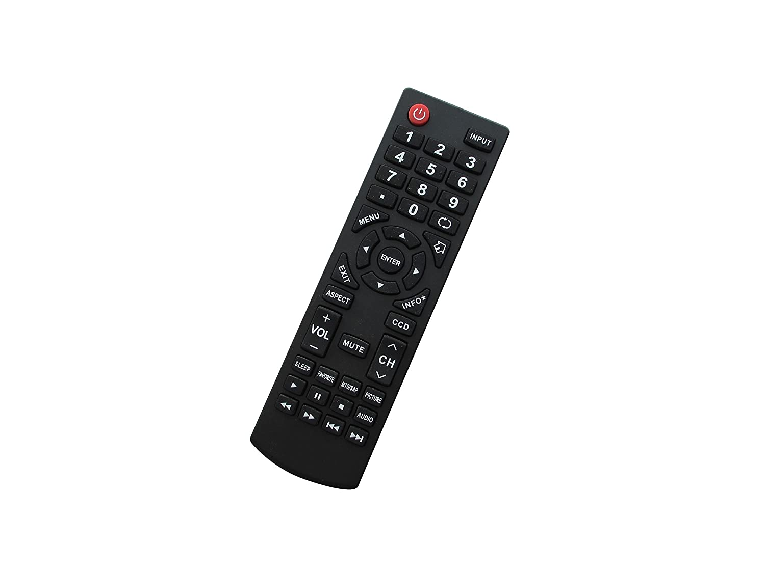 Amazon.com: Replacement Remote Control Fit For Dynex DX-15E220A12 DX-L19-10A  DX-L15-10A DX-L321-10A LCD LED HDTV TV: Electronics