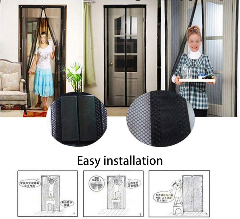 Mosquito Net Anti-Mosquito Door Screen Automatic Closing 100 X210Cm