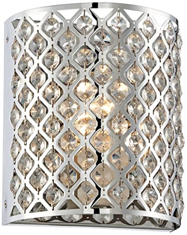 Possini Euro Design Glitz 8 1/2u0026quot; High Pocket Wall Sconce  sc 1 st  Amazon.com : possini wall sconce - www.canuckmediamonitor.org