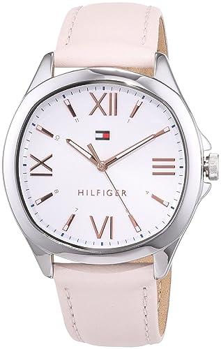 Tommy Hilfiger Reloj Analógico para Mujer de Cuarzo con Correa en Cuero 1781891: Amazon.es: Relojes