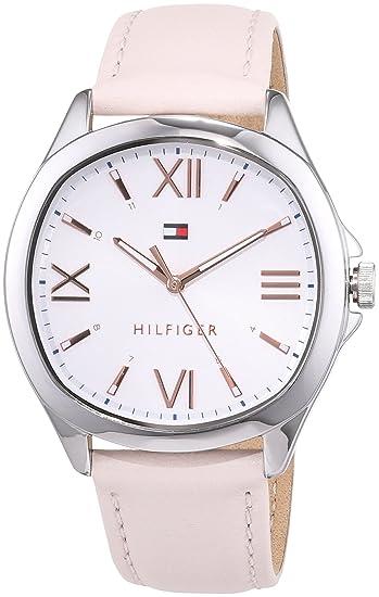 Tommy Hilfiger Reloj Analógico para Mujer de Cuarzo con Correa en Cuero 1781891