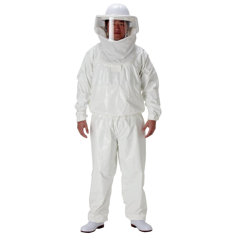 ミドリ安全 【蜂の巣の駆除作業向け】 《冷房ベスト付き蜂防護服》 ラプターⅢ V-1000 B00968U8I6