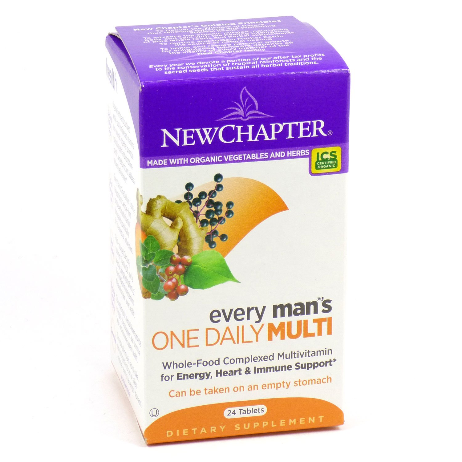 New Chapter Every Man s One Daily 24 tabs Multi-Pack