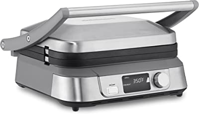 Cuisinart Electric Digital Griddler FIVE Stainless-Steel