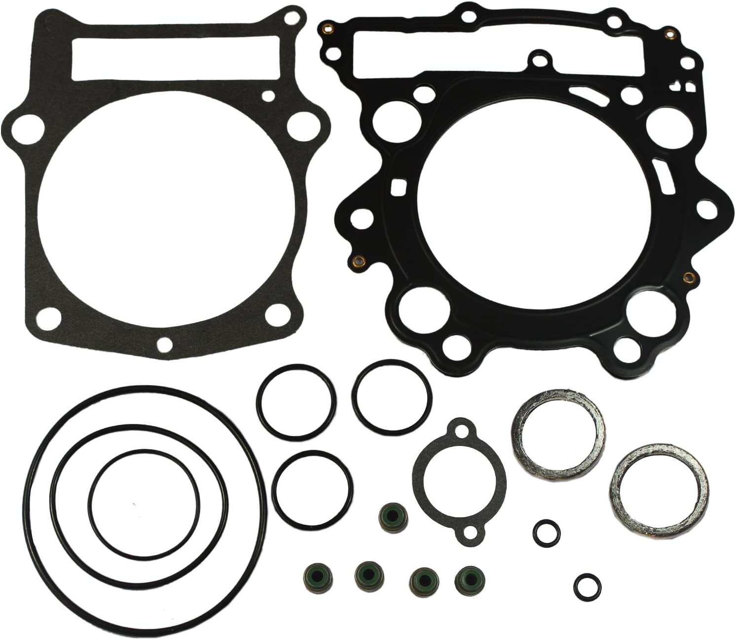JDMSPEED New Top End Head Gasket Kit for Yamaha Rhino 660 04-07 & Grizzly 660 2002-2008