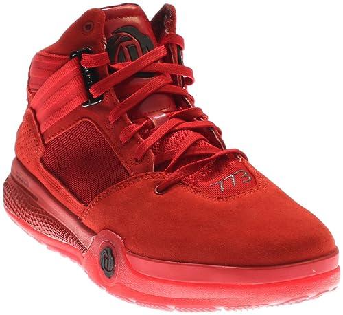 e791f5f1d399 adidas Performance Men s D Rose 773 IV Basketball Shoe (12, Scarlet Black)