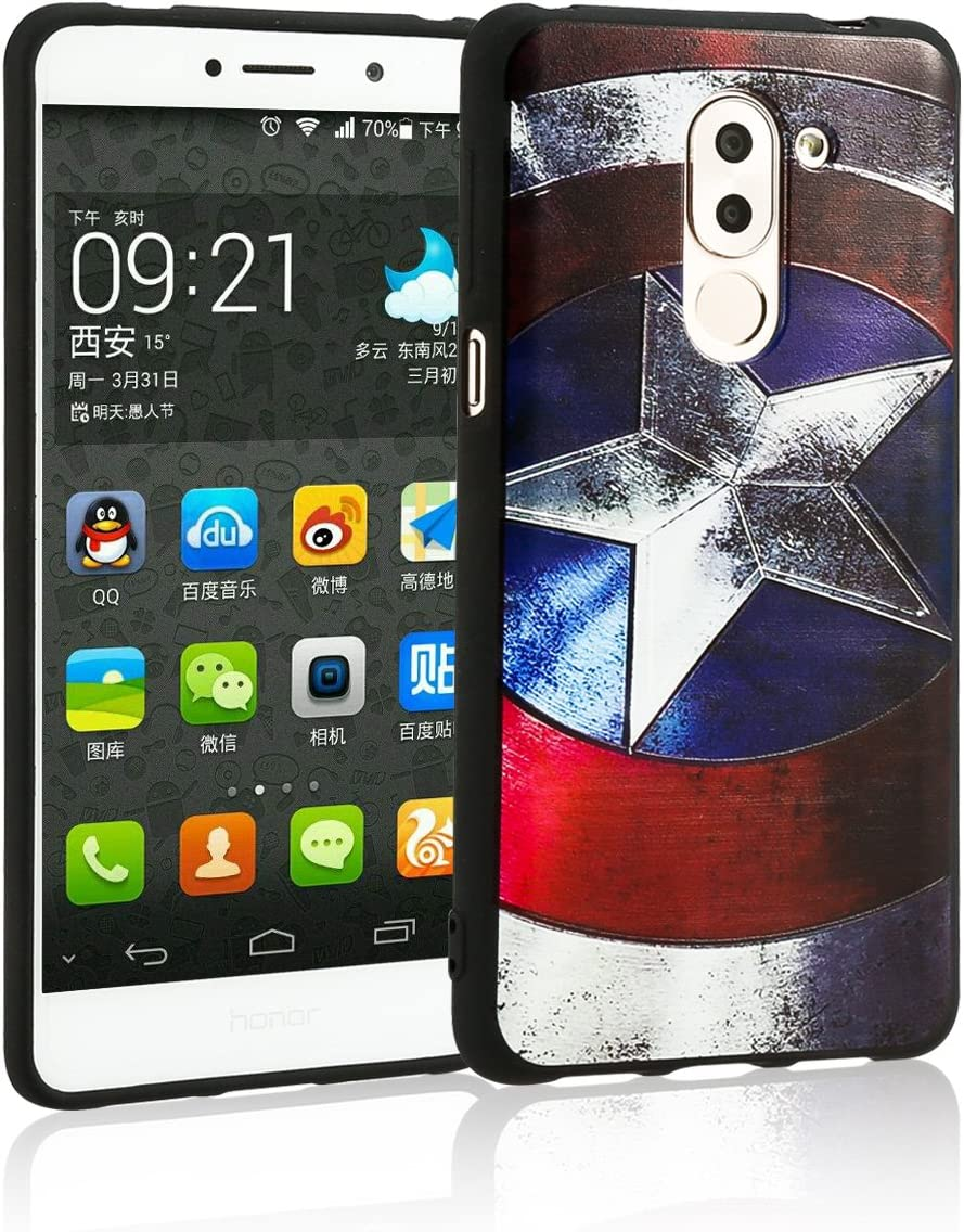 TUTUWEN Huawei Honor 6X Funda Silicona TPU de Flexibilidad Carcasa ...