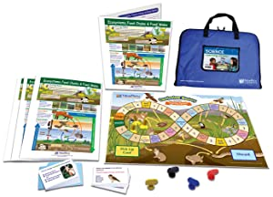 NewPath Learning Ecosystems, Food Chains & Food Learning Center Game - Grades 6-9