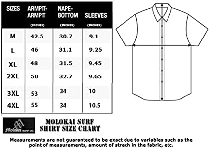 035618d4 Amazon.com: M MOLOKAI SURF Official Molokai Button up Slim Fit Hawaiian  Short Sleeve Shirts: Clothing