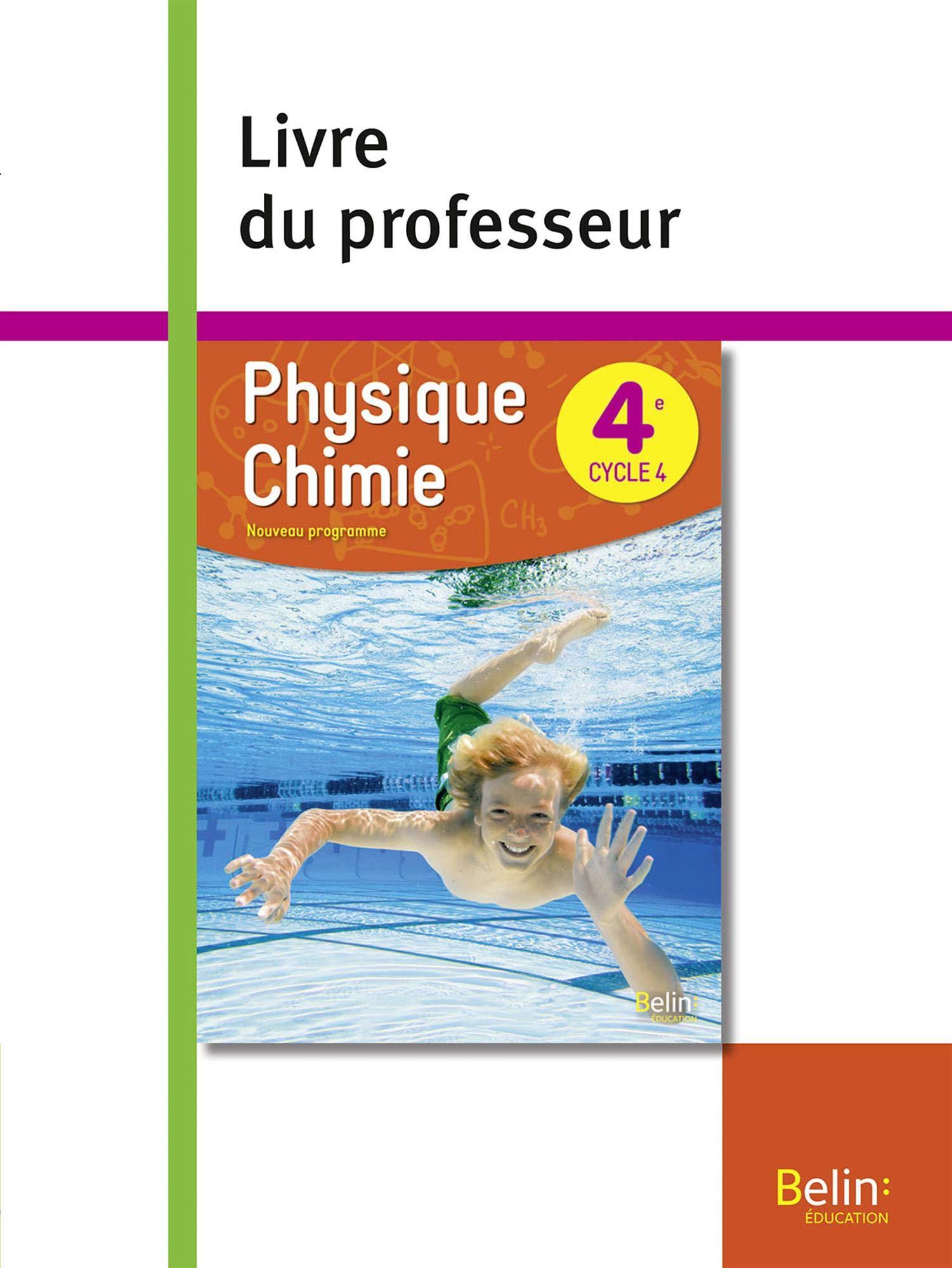 Physique Chimie 4eme 2017 Livre Du Professeur Amazon Fr