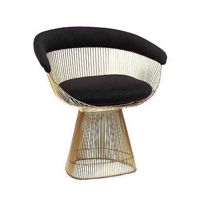 Peachy Amazon Com Stilnovo Fhc5788Fblk The Warren Lounge Chair Unemploymentrelief Wooden Chair Designs For Living Room Unemploymentrelieforg