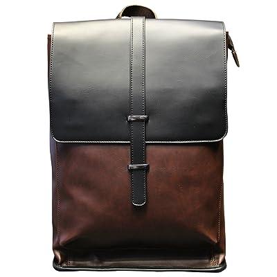 Tidog Korean outdoor travel backpack men large leather backpack