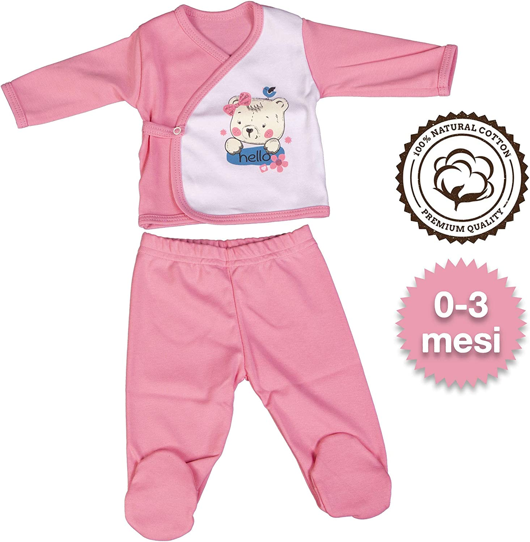 5-teilig 100 /% Baumwolle QAR7.3 Babykleidung
