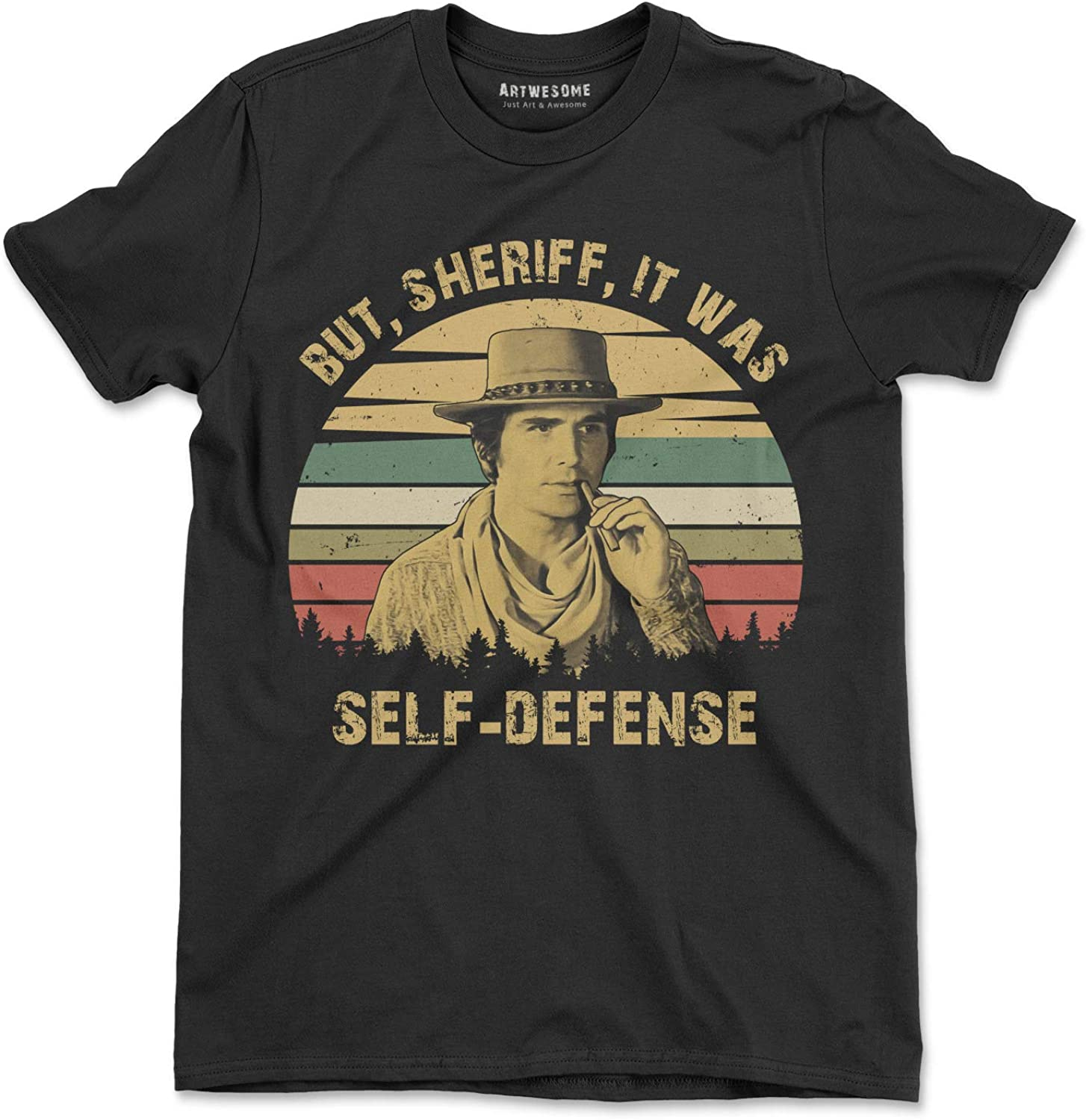 It was Self-Defense Vintage T-Shirt