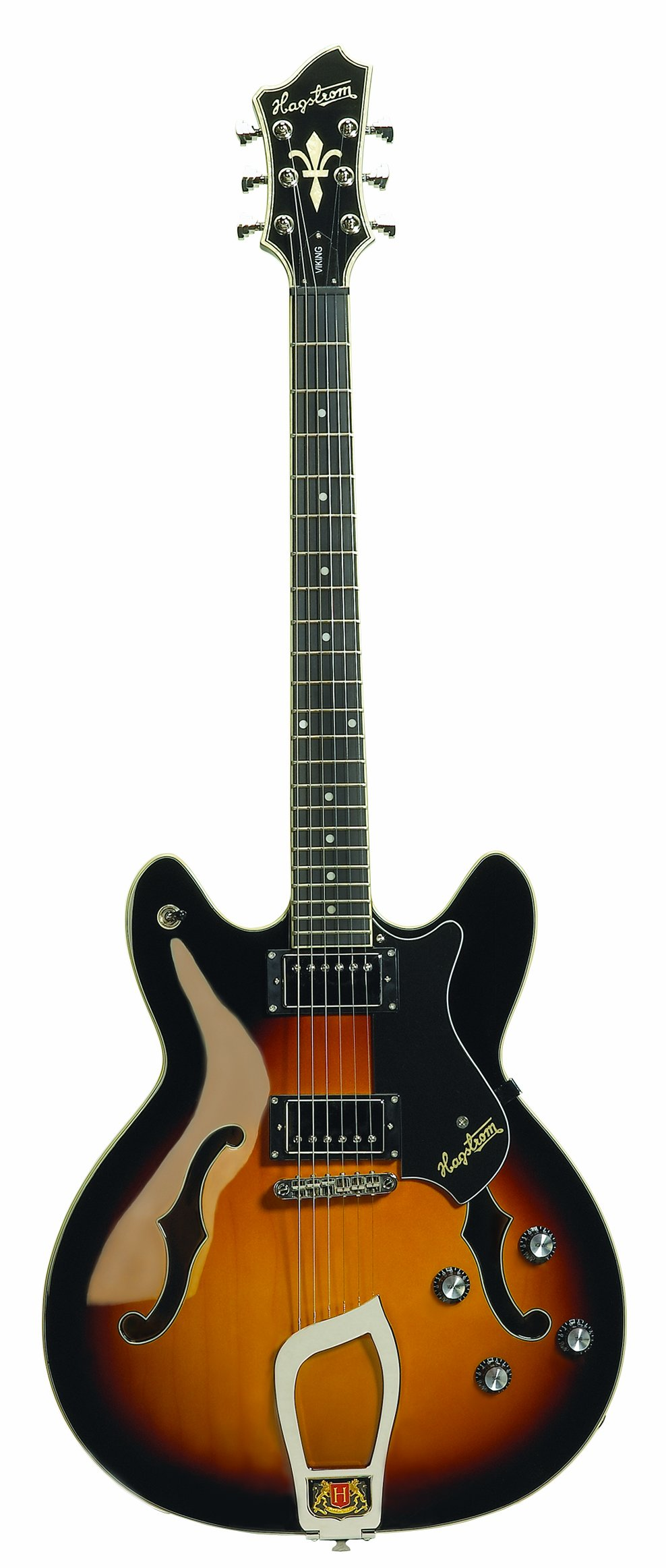 Hagstrom Viking Electric Guitar (Tobacco Sunburst) by Hagstrom (Image #1)