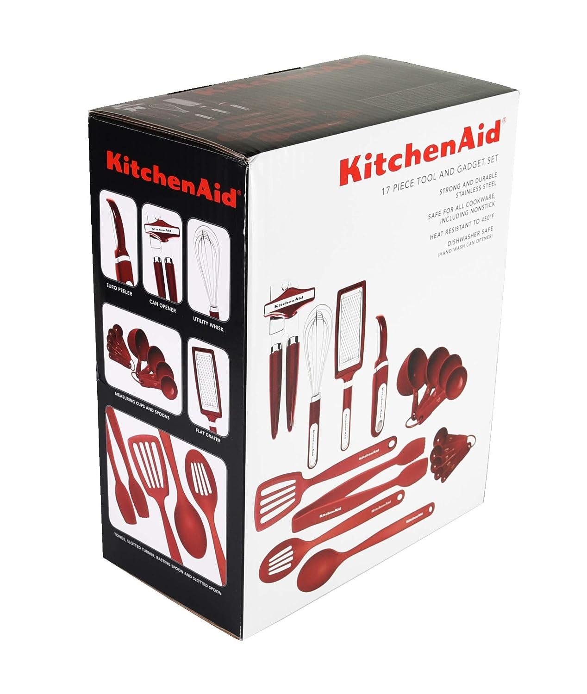 KitchenAid 15-Piece Tools and Gadget Set Black Lifetime Brands KC447BXOBT