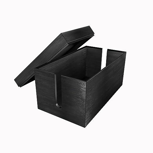 2 opinioni per KD Essentials Scatola nascondi cavi ([in bambù 14 x 25,4 x 14 cm, materiale