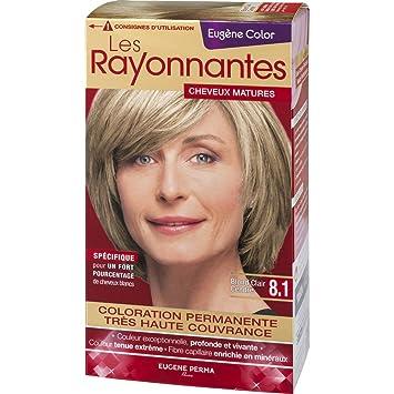 eugne color coloration 81 blond clair cendr - Coloration Blond Clair
